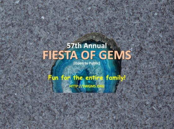 Fiesta of Gems 2018 Pub Wide 560x416 - 2018 Fiesta of Gems - March 10th & 11th