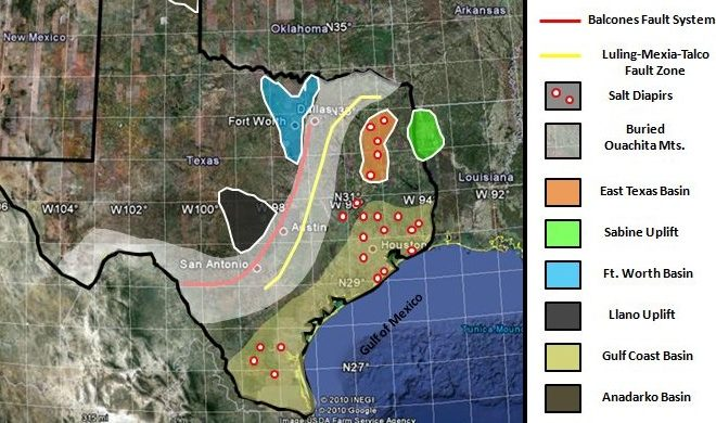 Hill Country Geology Map - Divi Blog
