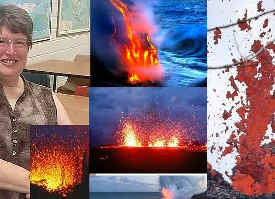 "Hawaiian Island Volcanism 560x406 - Joann Socash will present to us ""Hawaiian Island Volcanism"""