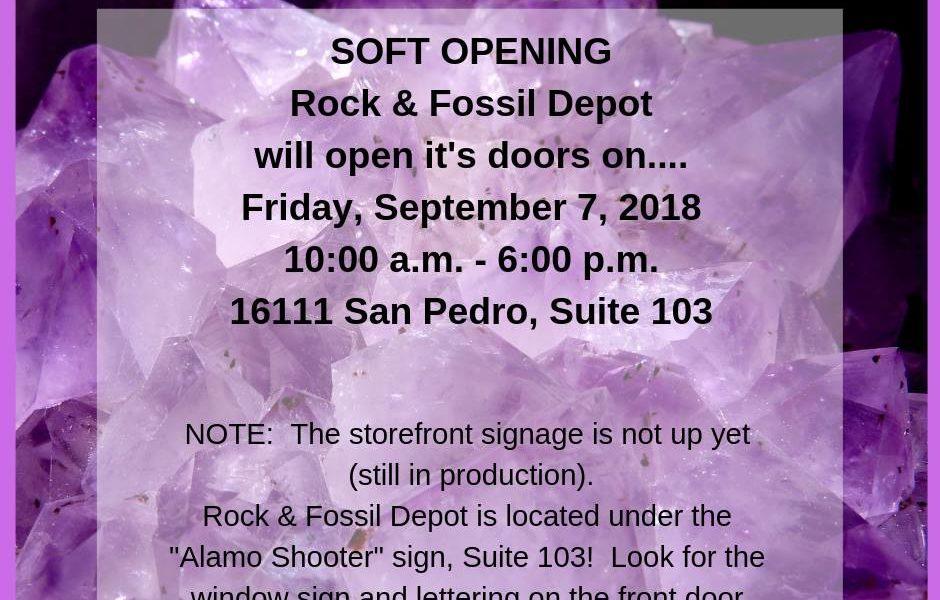 Rock Fossil Depot 940x600 - Rock & Fossil Depot Grand Opening!
